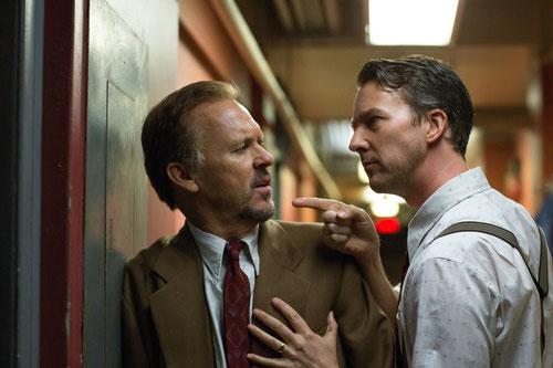 Michael Keaton et Edward Norton (©20th Century Fox)