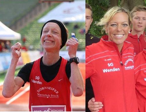 Sandra Klein und Christl Dörschel