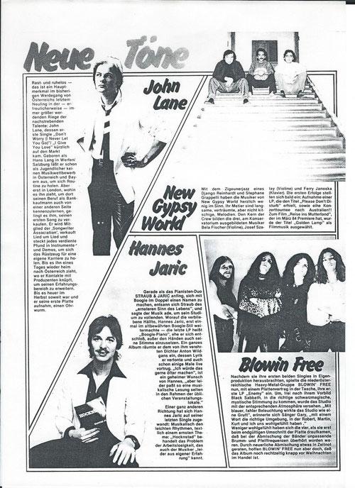 Hansi Georg Lang AKA John Lane - Music Man 1983