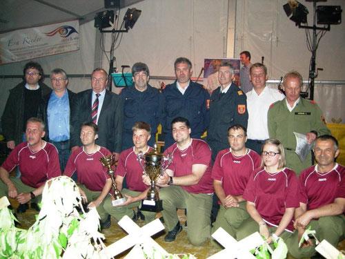 Sieger Weinviertel-Cup 2013 - FF Zwingendorf