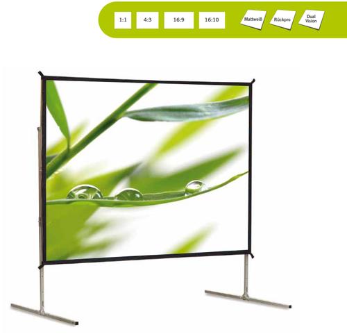 Fastfold, zusammenlegbare Projektionswand für den professionellen Einsatz