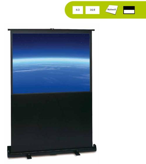 Quick Up Litescreen, besonders leicht, vom Fußboden nach oben ausziehbar