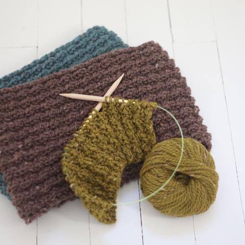 Strickanleitung für einen Schal aus Wolle von BC Garn