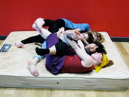 in choreographic practices at falmouth, 2011