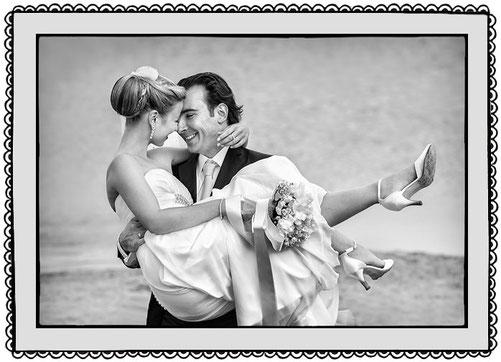 Besondere Hochzeitsfotografie