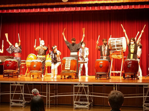 Taiko Nara 和太鼓 奈良 寧鼓座 ワークショップ 国際交流