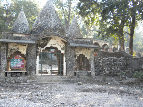 Rishikesh Beatles Ashrama owned by the Uttara Pradesh Forest Department