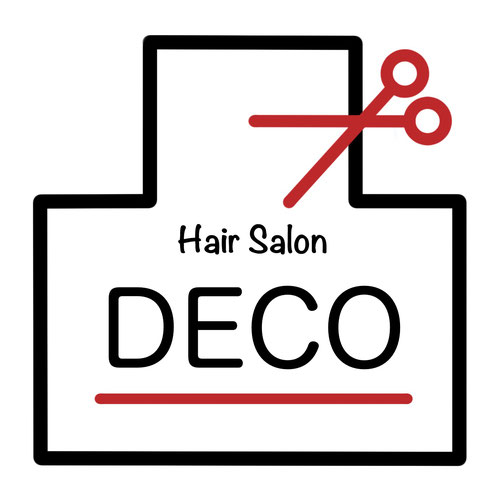 Hair Salon DECO ロゴ