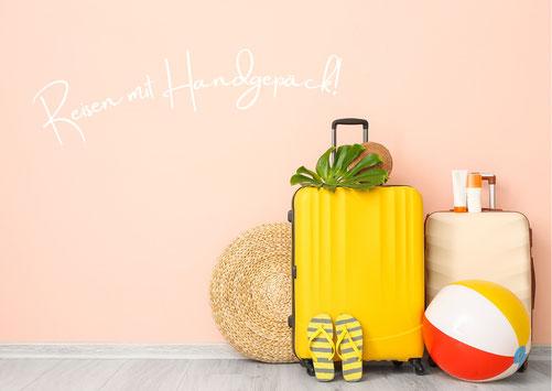 Inhalt Kulturtasche für das Handgepäck