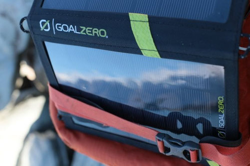 Gaol Zero Solar battery