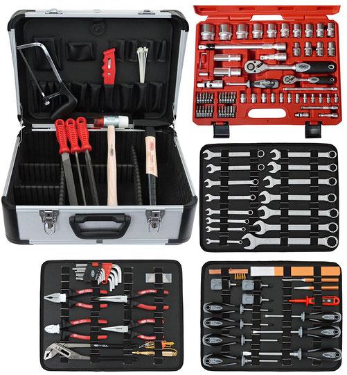Famex 720-21 Mechaniker Werkzeugkoffer mit Top Werkzeugen