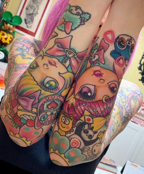 可愛いタトゥー