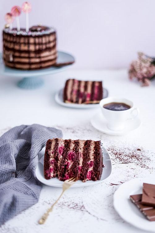Schokoladen - Mousse - Torte