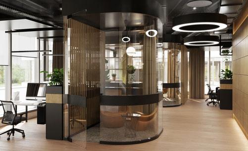 Office Design Innenarchitektur München caroline dippold