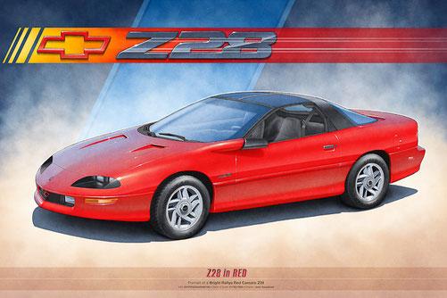 1993 CAMARO Z28, 1994 CAMARO Z28, 1995 CAMARO Z28, 1996 CAMARO Z28