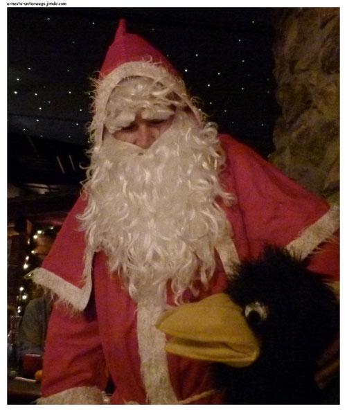 Sogar der Weihnachtsmann war da!