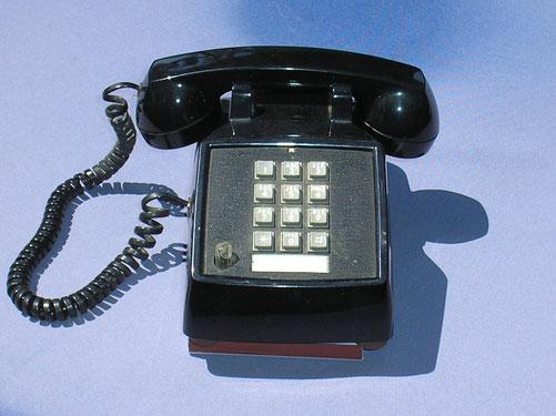 ZB Telefon mit Tastatur MFV Wahl von ITT Fertigungsjahr 1994