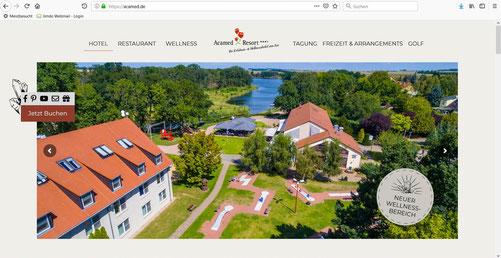 Zur neuen Webseite des Acamed