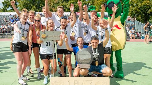 Die Rundbirds gewinnen das Spaß-Turnier FOTO Tilo Weiskopf, megawoodstockf, megawoodstock