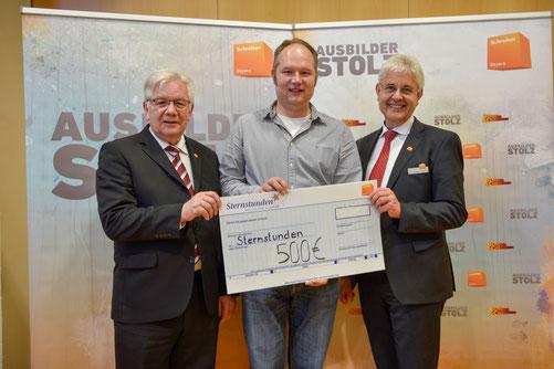 Schreinerei Wiedmann aus Windsfeld nimmt teil an Spendenaktion