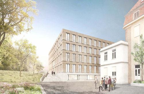 2017 Wettbewerb Universität für Bodenkulturen Wien Herr & Schnell Architekten Hamburg