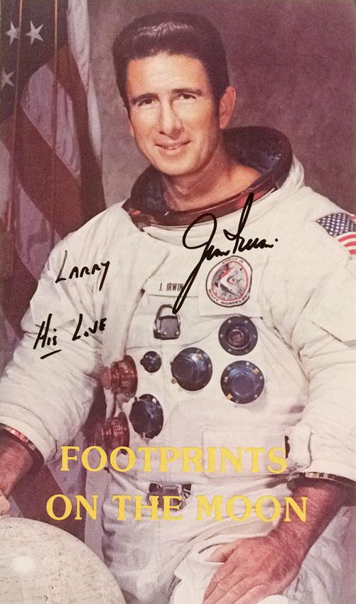Autograph Jim Irwin Autogramm