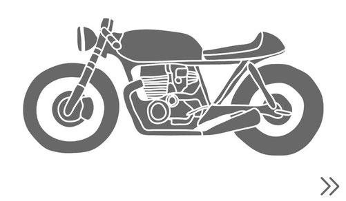 view more Cafe Racers Brats Scramblers Umbau kaufen BMW Honda Yamaha Ducati