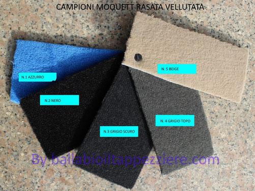 campioni moquett rasata vellutata by ballabioiltappezziere.com