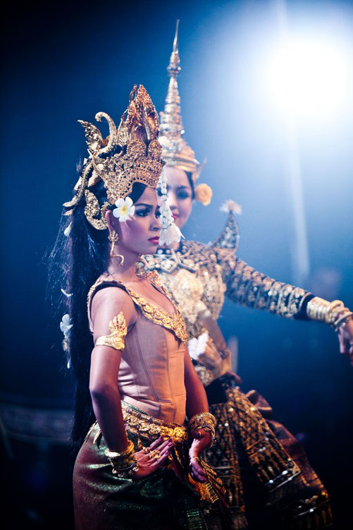 Une danseuse du Ballet royal du Cambodge © Thomy Keat