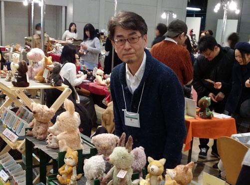 i-ppoたおか 田岡正臣 経堂 東京 テディベア ぬいぐるみ教室
