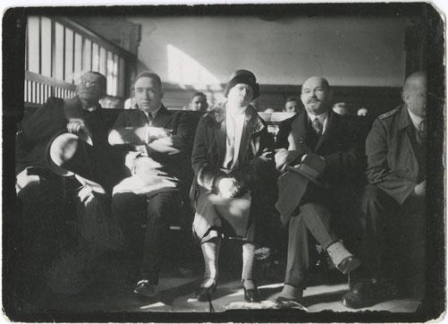 Zuschauer beim Sklarek-Prozess (1930)
