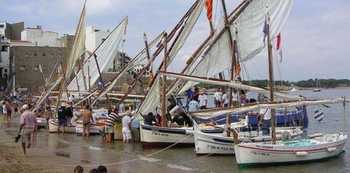 рыбалка на коста брава, рыбные рестораны на коста брава, рыболовецкий порт на коста брава, паламос порт , ла эскала порт