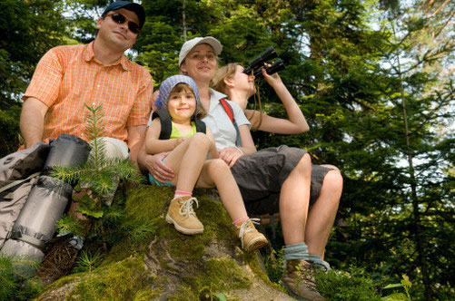 vacances en famille : randonner avec un âne