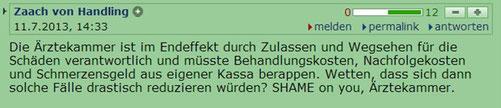 http://derstandard.at/1373512271431/Mehrere-Patientinnen-verletzt-Wiener-Aerztin-bot-Billig-Abtreibungen-an?seite=8#forumstart