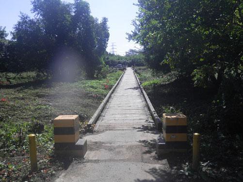 架替前の橋1