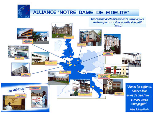 Alliance NDF : presence in the world