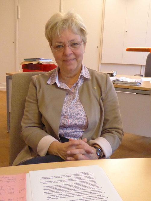 Bezirkstadträtin Jutta Kaddatz (CDU),  Foto Weil