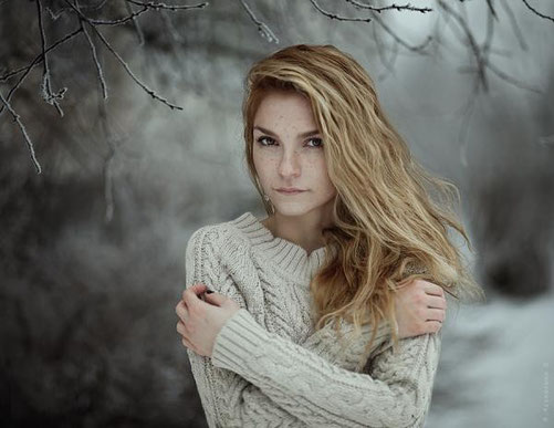 женский портрет-4