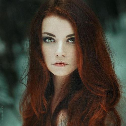 женский портрет-1