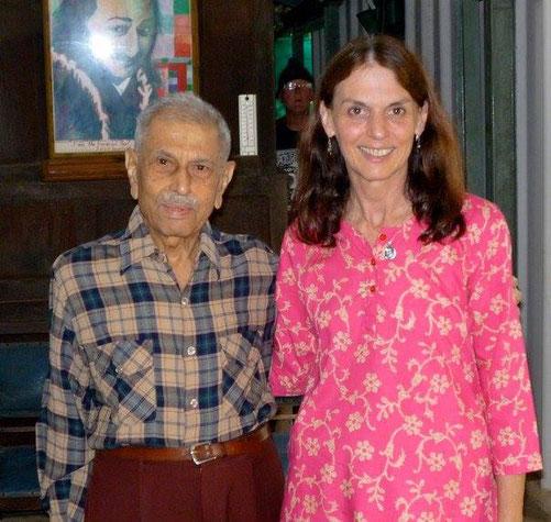 Mariaya with Meherwan Jessawala