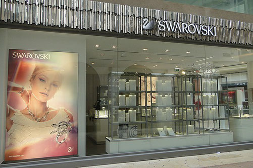 Schmuck Boutique Swarovski, Calle Mayor, 15, Gandia 46701, Valencia, Spanien