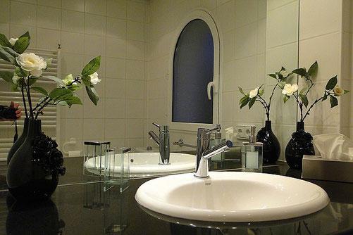 Badezimmer der Ferienwohnung Valencia