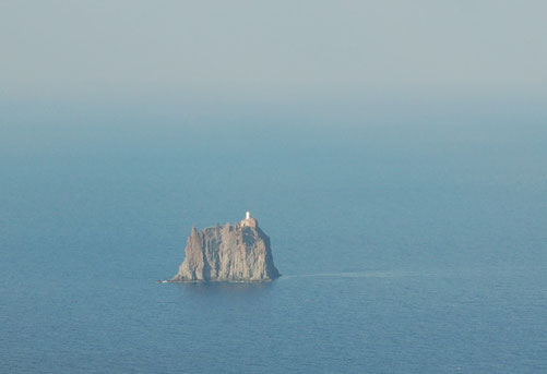Blick vom Stromboli, Isole de Lipari / Italien