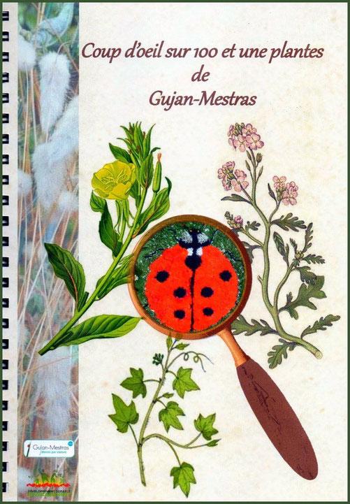 """Couverture de l'herbier de la biodiversité """"Coup d'œil sur 100 et une plantes de Gujan-Mestras""""  (Bassin d'Arcachon - 33)"""