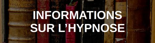 informations sur l'hypnose