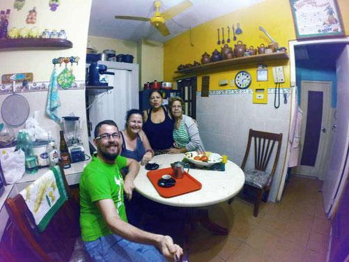 Essen bei Einheimischen in Kuba