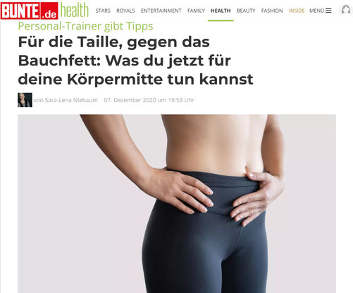 Im Interview auf bunte.de/health