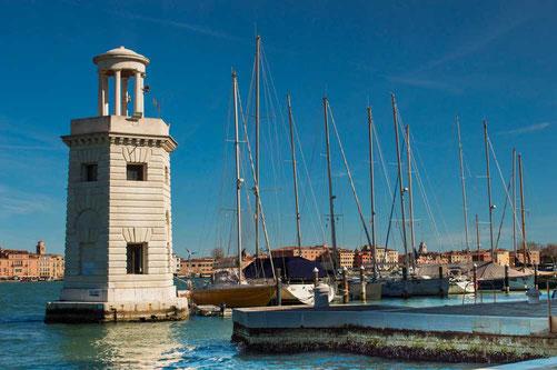 Leuchtturm San Giorgio Maggiore Venedig Venezia Italien