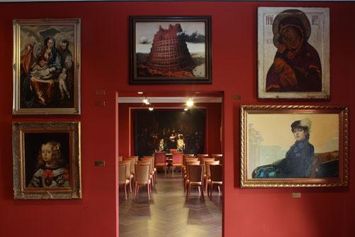 Einblick ins Fälschermuseum im Seehotel Großräschen