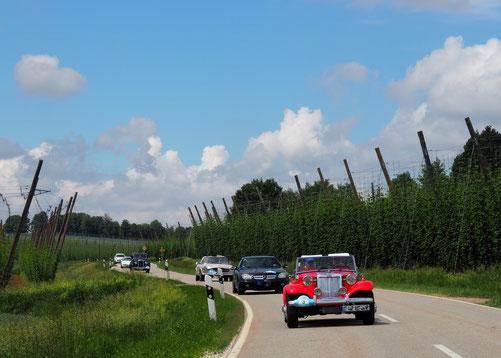 Unterwegs im Hopfenland Hallertau